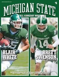 Msu Football Gameday Magazine 2009 Penn State By Ben