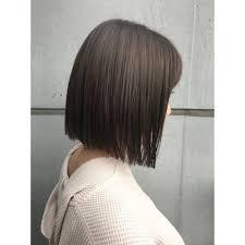パッツンストレートボブ Monotypeモノタイプのヘアスタイル 美容院