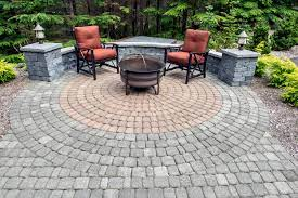 old dominion pavers for circle patios