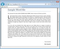 Example Word Documents Word File Sample Barca Fontanacountryinn Com