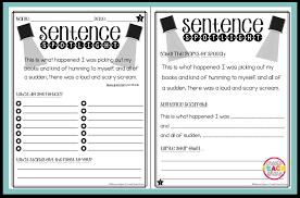 Mentor Sentence Anchor Chart Putting The Spotlight On Mentor Sentences Upper Elementary