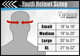 Bilt Youth Helmet Size Chart Youth Atv Or Motocross Helmet Sizing Tips Typhoon Helmets