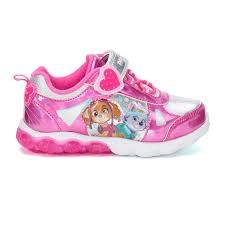 Elmo Light Up Shoes Paw Patrol Skye Everest Toddler Girls Light Up Sneakers