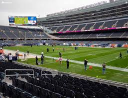 Soldier Field Section 131 Seat Views Seatgeek