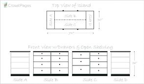 walk in closet dimensions layout for minimum standard door width