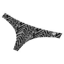 new balance underwear. new balance nb breathe thong 1 pair, black with white underwear