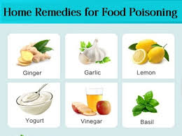 how to cure food poisoning fast