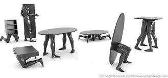 cool furniture design. Marvelous Cool Sculptural Human Furniture In Modern Design