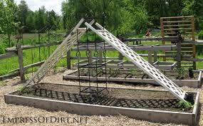 garden items. 20+ Ideas For Your Home Veggie Garden - Repurosed Items Trellis To Provide Shade