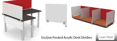 privacy panels and desktop dividers