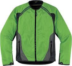 icon anthem mesh jacket jackets textile green icon leather motorcycle jackets uk
