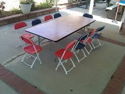 children long table set