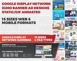 Ad Designs Google Display Network Gdn Banner Ad Designs Static Gif