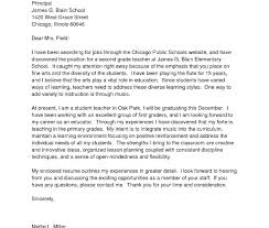 Neweacher Cover Letter Sample Foreaching Position Collection Of