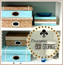 Make Decorative Storage Boxes DIY Decorative Box Storage Vintage Paint and more 2