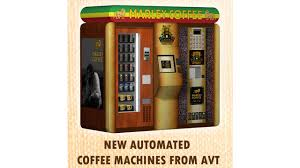 Starbucks Coffee Vending Machines Delectable AVT To Give Away Marley Coffee Vending Machine Jamaica Trip
