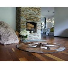 round black and white cowhide rug beautiful round cow hide cowhide rug brown black white calf
