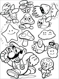 Mario Kart Coloring Page Profitable Kart Characters Coloring Pages