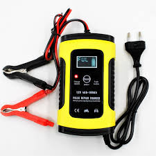 Full Automatic Car Battery Charger 110V to 220V To <b>12V 6A</b> ...