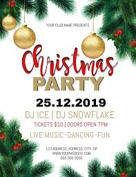 Christmas Event Christmas Party Event Flyer Template Postermywall