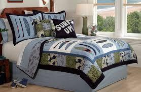 quilt bedding sets boys catalunyateam home ideas treatment quilt bedding sets