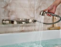waterfall faucet brushed nickel waterfall faucet waterfall faucet brushed nickel alarm clock waterfall tub spout brushed