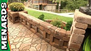 beautiful authentic looking of landscape blocks menards