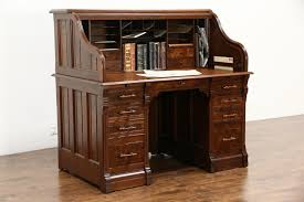 popular home office computer. Image Of: Sold Victorian 1885 Antique Walnut Burl S Curve Roll Throughout Top Popular Home Office Computer G