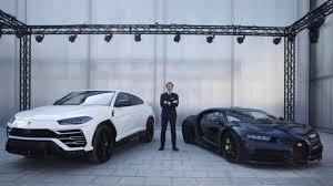 Lamborghini urus in dark blue. Bugatti President Stephan Winkelmann Looks Forward To 2021