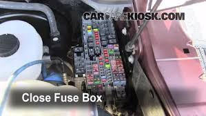 replace a fuse 2008 2016 ford f 250 super duty 2011 ford f 250 6 replace cover secure the cover and test component