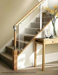 glass staircase railing designs glass and wood stair railing more glass staircase railing ideas