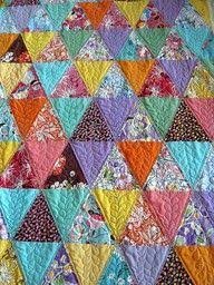 Taking Turns quilt from Spring 2012 Quilts and More magazine ... & Blog Archive » A Quilt Block A Day Tutorial – Pyramids! Adamdwight.com