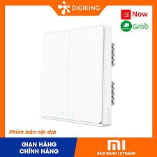 Công tắc thông minh 1 nút Xiaomi Aqara wireless switch D1 ( wall-mounted)  one-touch version tại Hà Nội
