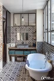 http://www.honeysucklelife.com/wp-content/uploads/2013/01/Spanish -Style-Black-Bathroom-Tile.jpg | m casa | Pinterest | Spanish style,  Bathroom tiling and ...