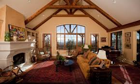 Vaulted Living Room Decorating Similiar Rustic Vaulted Ceilings Keywords