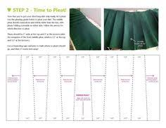 Pleated Skirt Pattern Unique Making A Flared Box Pleated Skirt Sewing Pinterest Box Pleat