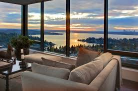 4040 M Lincoln Tower 40th Floor Condo For Sale Downtown Bellevue Amazing 2 Bedroom Apartments Bellevue Wa