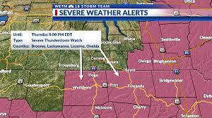 UPDATE: Severe Thunderstorm Watch ...