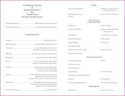Wedding Ceremony Order Of Events Template Nosugarcoating Info