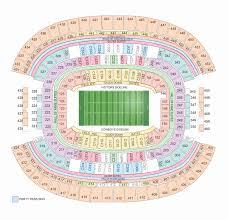 Cowboy Stadium Concert Seating Chart Dallas At T Stadium