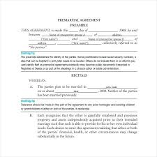 Marriage Agreement Contract Luxury Nuptial The Pre Sample – Narrafy ...