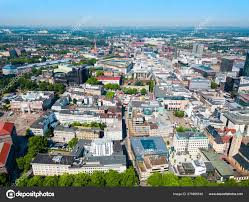 Dortmund city centre aerial view — Stock Photo © saiko3p #278985540