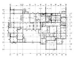 VIP House   Working drawing  Basement foundation plan   Archnet