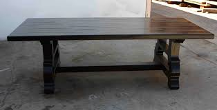 custom spanish style furniture. Beautiful Spanish Style Dining Furniture Custom Made Trestle Tile Table: Full Size