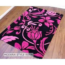 pink and black area rugs 5x7 pink black area rug