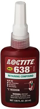 Loctite Retaining Compound Chart Loctite 21448 Green 638 High Strength Retaining Compound 50 Ml Bottle