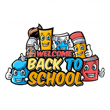 Welcome Back Graphics Welcome Back To School Characters With Funny Education