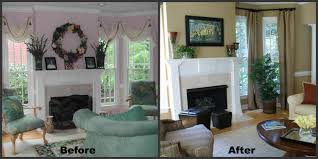 Makeover Living Room Living Room Makeover Before And After Photos Living Room 2017