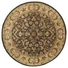 round wool area rugs mystic chocolate 9 ft x 9 ft round area rug wool area