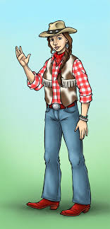 a cowgirl costume in six steps holidappy